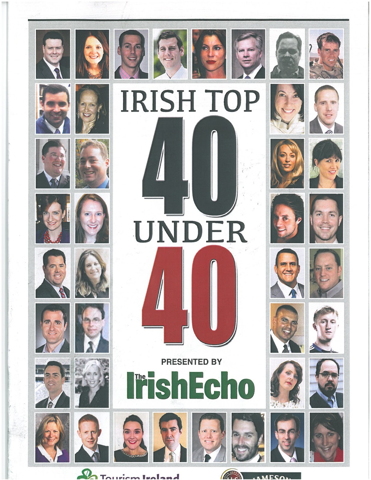 Egan named to Irish Echos 2013