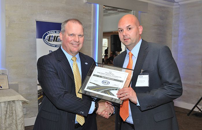 Egan & Golden, LLP Recognized as New Member of the Long Island Contractors' Association